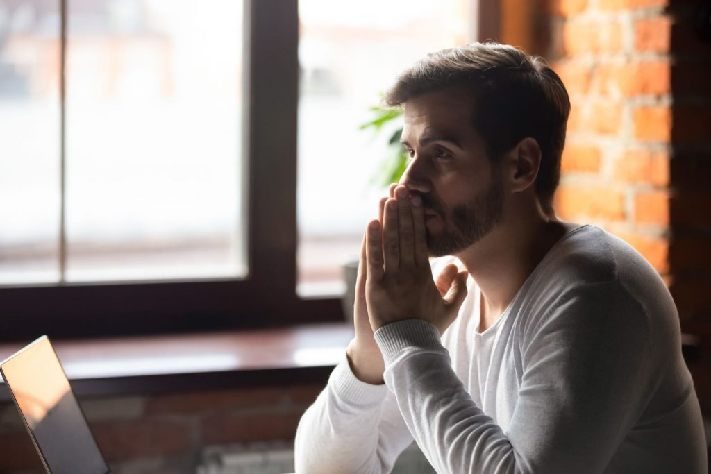 Implicit Bias - Man Contemplating